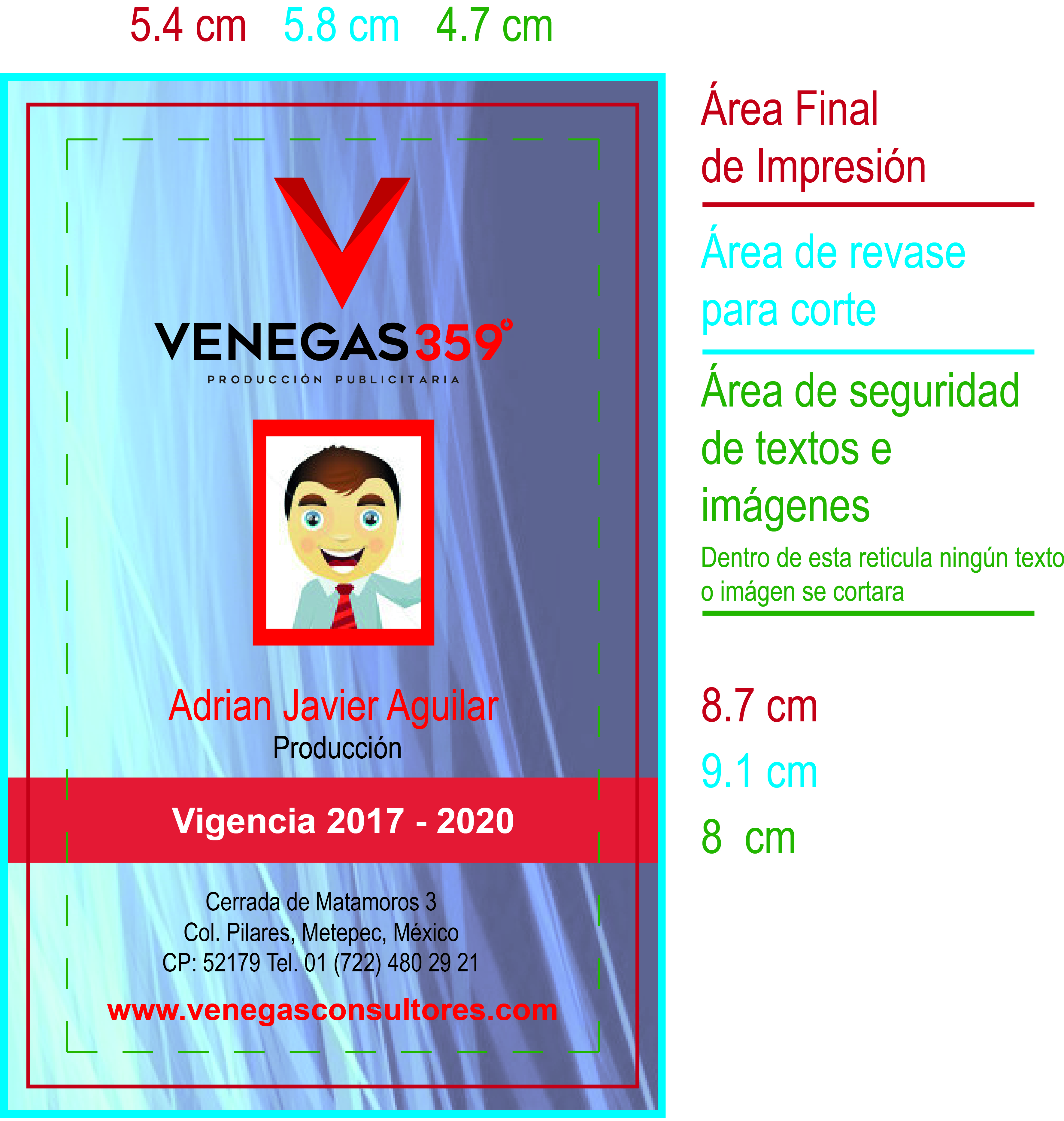 Medidas Credenciales Consultoria Publicitaria Inbound Marketing