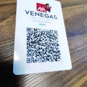 Credencial VCard PVC